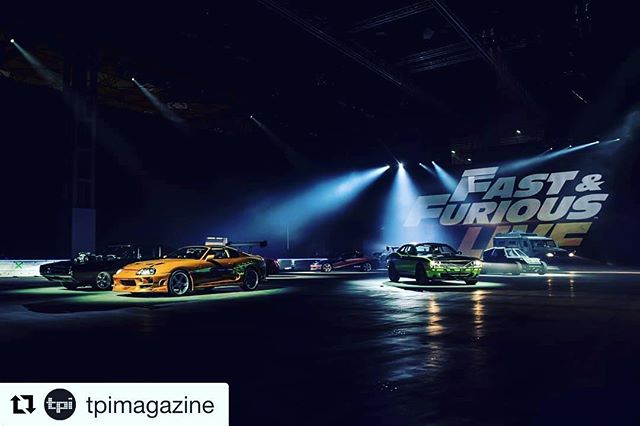 #Repost @tpimagazine ・・・ @tpimagazine's Stew Hume peers under the bonnet of @arenabirmingham to bear witness to @universalpicturesuk's @fastandfuriouslive; an experience that promised to bring all of the adrenaline-fuelled stunts from the street racing sa