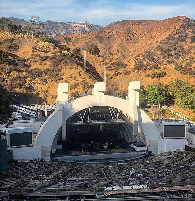We have had a team working at the Hollywood Bowl this week as part of a major US tour. Proud to be working at such an iconic venue with such an awesome client.  #catering #tourcatering #hollywood #hollywoodbowl #food #instafood #eventcatering #events #che