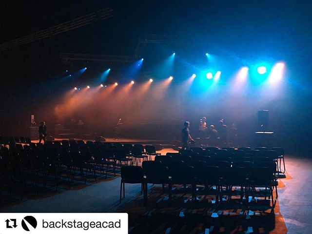 Today we are extremely excited to be catering at the @backstageacad graduation. MASSIVE CONGRATULATIONS GUYS! We look forward to seeing your careers growing in this incredible industry