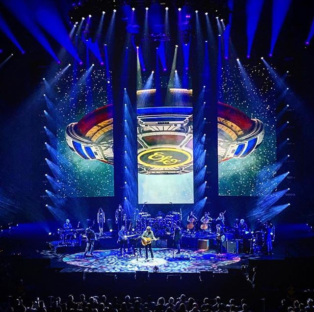 Yesterday we popped to visit our fantastic catering and hospitality team working on Jeff Lynne's ELO. We are extremely proud to be a supplier of this amazing tour. Next stop London town