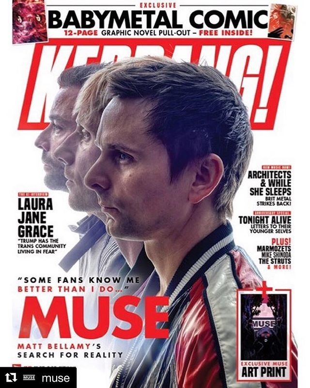 #Repost @muse with @get_repost ・・・ On newsstands tomorrow