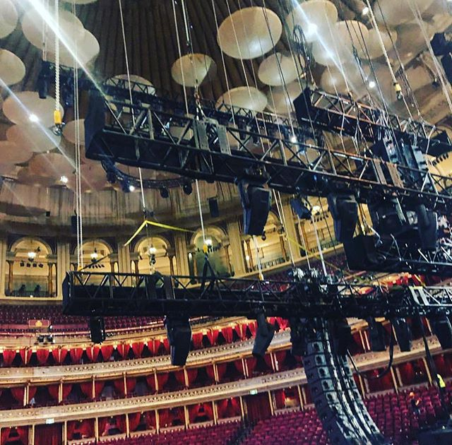 On today's menu: Crew & artist catering for Muse at the incredible Royal Albert Hall. Yummy