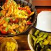 Thai Shrimp Cashew Crunchy Veg Salad with Mango & Edamame